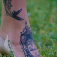 Девочка-тату: правая нога 2 :: Владимир Бондарев