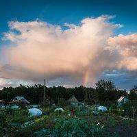 Сентябрьский вечер на вторых садах. :: Сергей Щелкунов