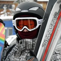 """...лыжи-папины,у меня-сноуборд!"" :: Александр Попов"