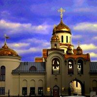 Храм Покрова Пресвятой Богородицы. г.Озерск :: Phantom