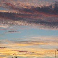 Пролился в небо Божественный закат... :: Елена Павлова (Смолова)