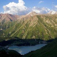 Большое Алматинское озеро :: Alexey alexeyseafarer@gmail.com