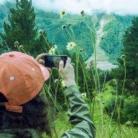Вид на горы Терскол :: Zifa Dimitrieva