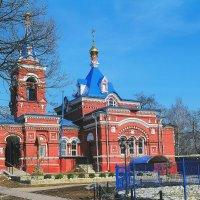 Храм на Егорьевском шоссе :: Борис Александрович Яковлев