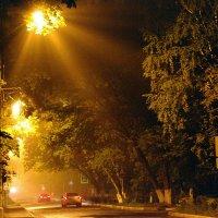 Улица, фонарь, туман :: Виктор Х.