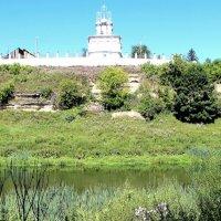 Церковь Петра и Павла на берегу р. Зуша. :: Борис Митрохин