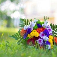 Букет цветов радуги :: Татьяна Бабкина