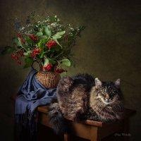 И у котов бывает бабье лето... :: Ирина Приходько