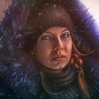 Сибирский холодный закат :: Sergey
