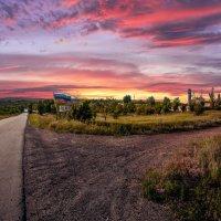 Розовый закат :: Алина Гриб