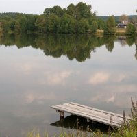 Сельский пруд :: Владимир Новиков