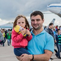 Папа с дочей :: Дмитрий Чулков