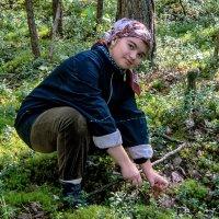 Охотница тихой охоты :: Денис Вишняков