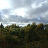 Усть-Вымь. Осень в Марьином ручье. :: Николай Туркин