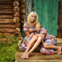 я и моя любимая дочурка :: Ольга Гребенникова