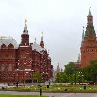 На Манежной площади :: Владимир Болдырев