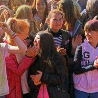 Северодвинск. Фестиваль красок. Всплеск :: Владимир Шибинский
