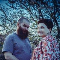 родители бывают разные: бородотае, полосатые, важные) :: Мария Корнилова