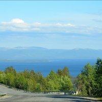Вид с перевала. :: Юра Степнов