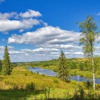 Река Подюга :: Альберт Сархатов