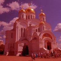 Cерафимо-Дивеевский монастырь,Спасский собор :: Сергей Цветков