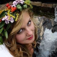 Цветочная девушка :: Виктор Зенин