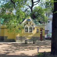 Домик в Александровском саду :: Вера Щукина