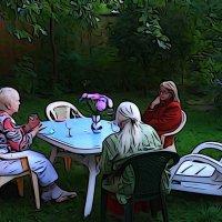 Последние тёплые вечера... :: Григорий Кучушев