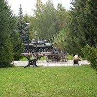 Танковый музей. :: Мила