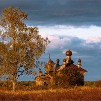Грустный закат... :: Александр Никитинский
