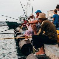 Рыбаки... :: Алена Ковалева