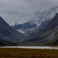 Где-то за облаками вершина Белухи :: Геннадий Мельников