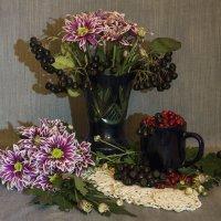 Этюд с осенними цветами :: Aнна Зарубина
