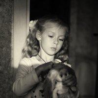 У неё мои привычки- два банта и две косички! :: Ирина Данилова