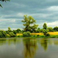 Летний пейзаж перед грозой. :: Александр Атаулин