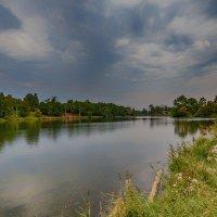 Вечер на озере :: Николай Николенко