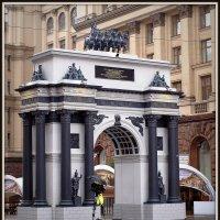 Московские триумфальные ворота. Эпоха Александра I. :: Михаил Малец