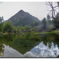 DSCF0794 гора в озере 8 шт :: Олег Петрушин