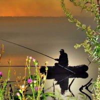 Рассвет на Щучьем  озере. :: Елена ТАРАСЕНКО