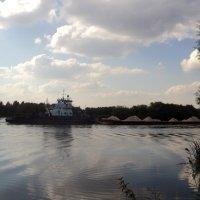 Вчера на реке Москва в Подмосковном Лыткарино.. :: Ольга Кривых