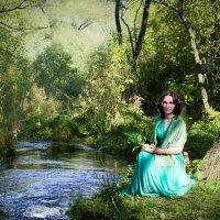 Краски осени. Зелёный. :: Tanya Mukhgaleeva
