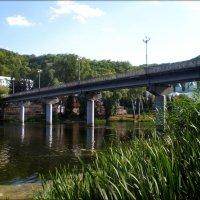 Мост через Северский Донец :: Татьяна Пальчикова
