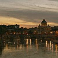 Вечером в Риме. :: Милана Гресь