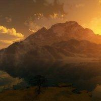 Солнце за горами... :: Иван Солонинка