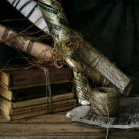 Про старые книги, которые надо выкинуть, а жалко. :: Михаил Анисимов