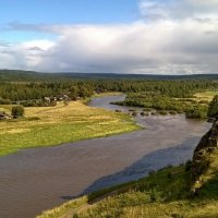 Река Чусовая. :: Пётр Сесекин