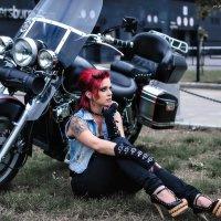 """серия """"Moto girl's"""" :: Nina Zhafirova"""