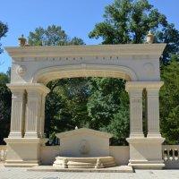 Триумфальная арка 145-летия курорта Горячий Ключ :: Наталья Мельникова
