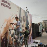 Уличные художники :: Светлана Соловьева