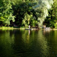 Природа над рекой :: Татьяна Пальчикова